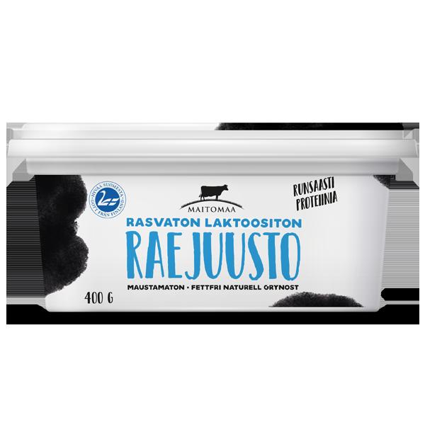 Raejuusto 400g rasvaton laktoositon