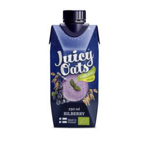 Juicy Oats Mustikka 2,5 dl
