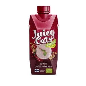 Juicy Oats Puolukka 2,5 dl