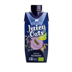 Juicy Oats Mustikka 2,5 dl