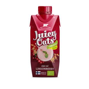 Juicy Oats Puolukka 2,5 dl