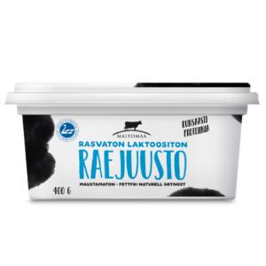 Rasvaton laktoositon raejuusto 400 g
